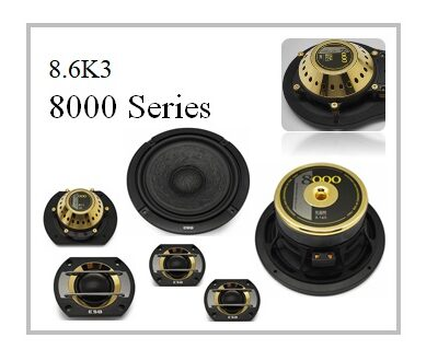 ESB speaker, ESB Audio, ESB 8000 series, ESB 8.6K3